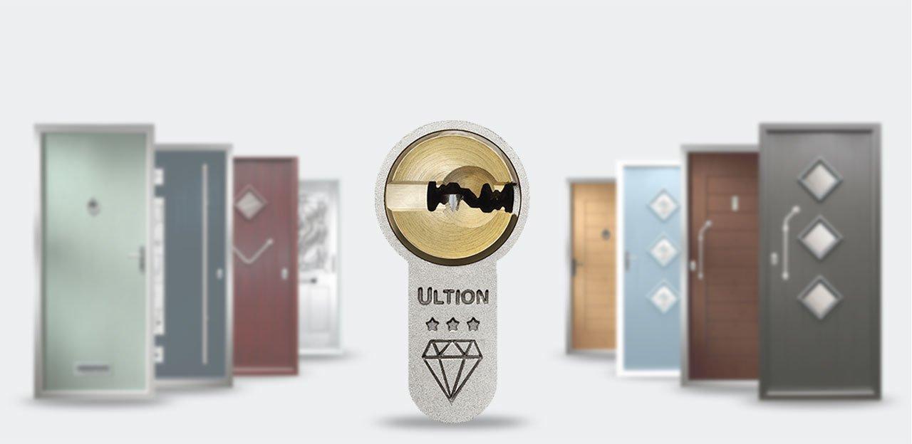 Ultion Cylinder as Standard