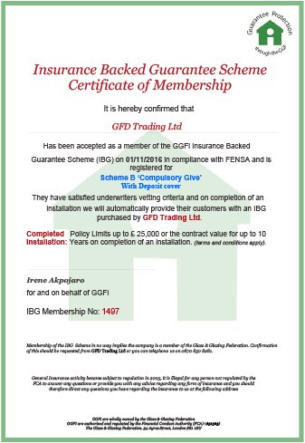 GGFi - Insurance Backed Guarantee Certificate of Membership
