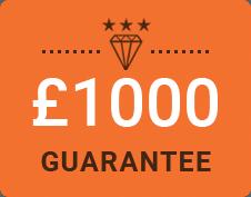 £1000 Guarantee