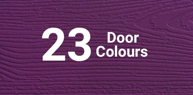 23 Door Colours