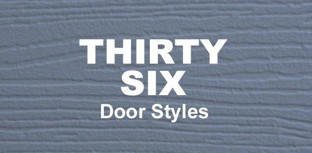 36 Door Styles