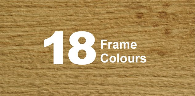 18 Frame Colours