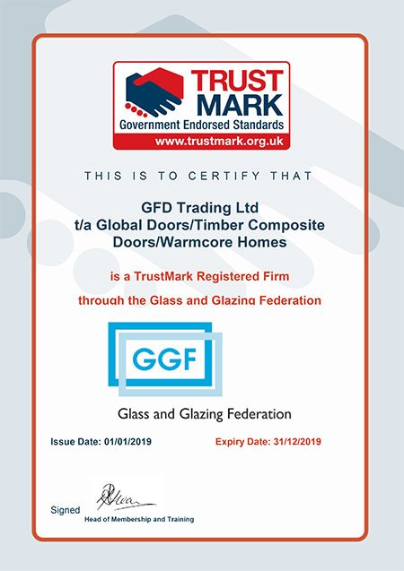 TrustMark Registered Firm Certificate