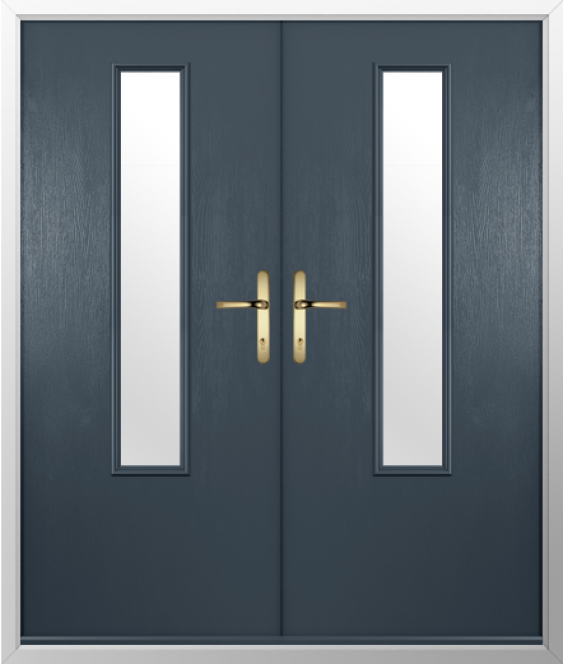 Solidor French Monza Timber Composite Door
